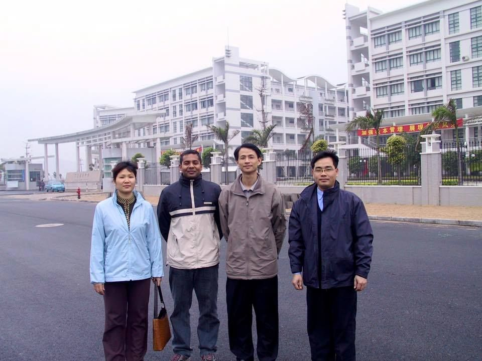 In Guangzhou in 2003