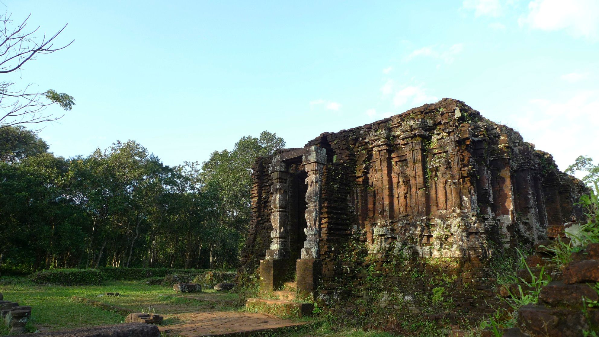 Cham ruins at My Son