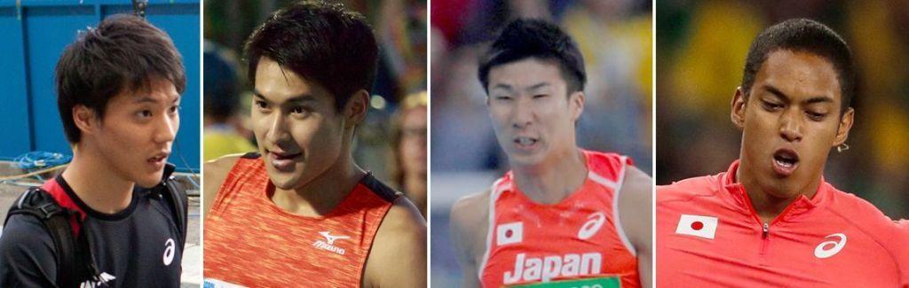 Ryota Yamagata (24), Shota Iizuka (25), Yoshihide Kiryu (21), and Aska Cambridge (23)
