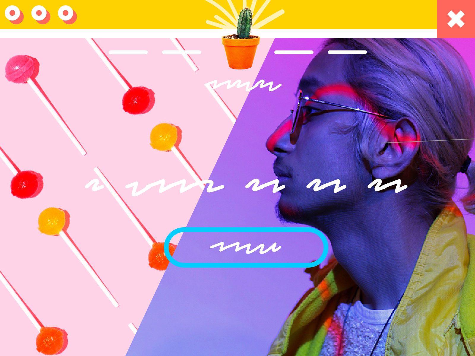 Saas homepage design