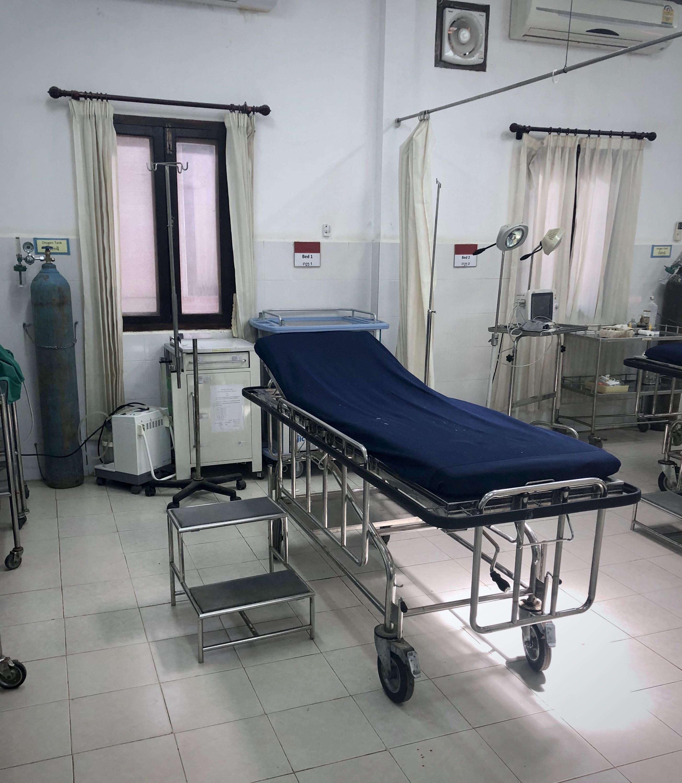 Luang Prabang hospital bed