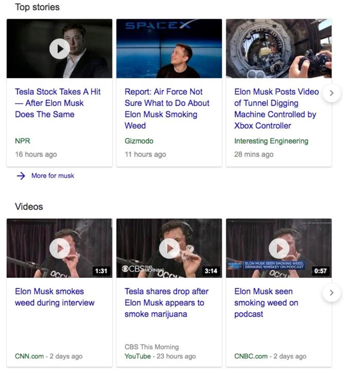 Elon news stories