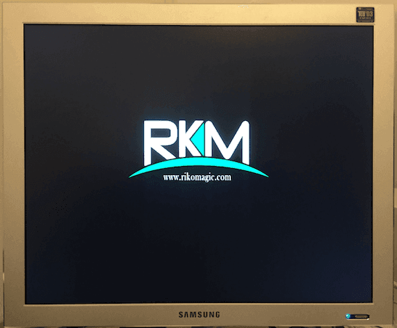 Boot stuck at Rikomagic logo