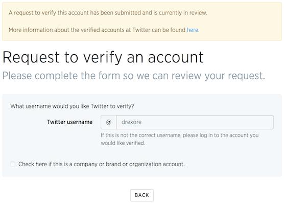 Verifying status