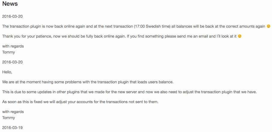 Mining Sweden News