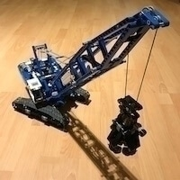 LEGO Set 42042-1 - Crawler Crane
