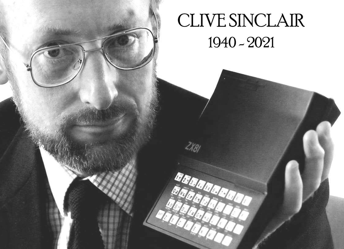 Sir Clive Sinclair passed away at age 81
