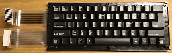 Refurbished keyboard for a ZX Spectrum +2A/+2B