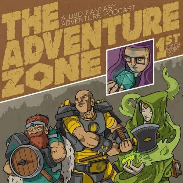The Adventure Zone Cover