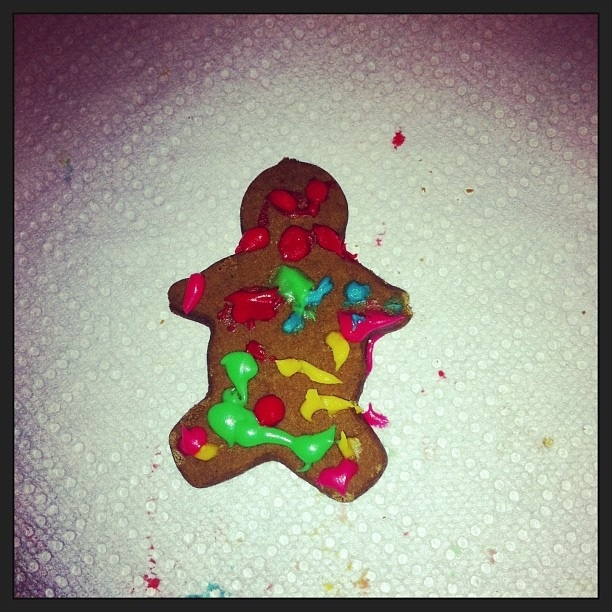 Houston's latest gingerbread man.