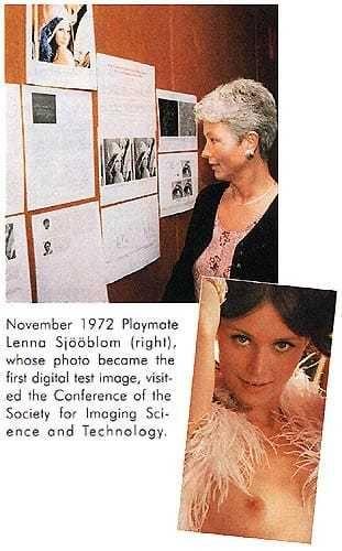 Une brève dans le Playboy de septembre 1997