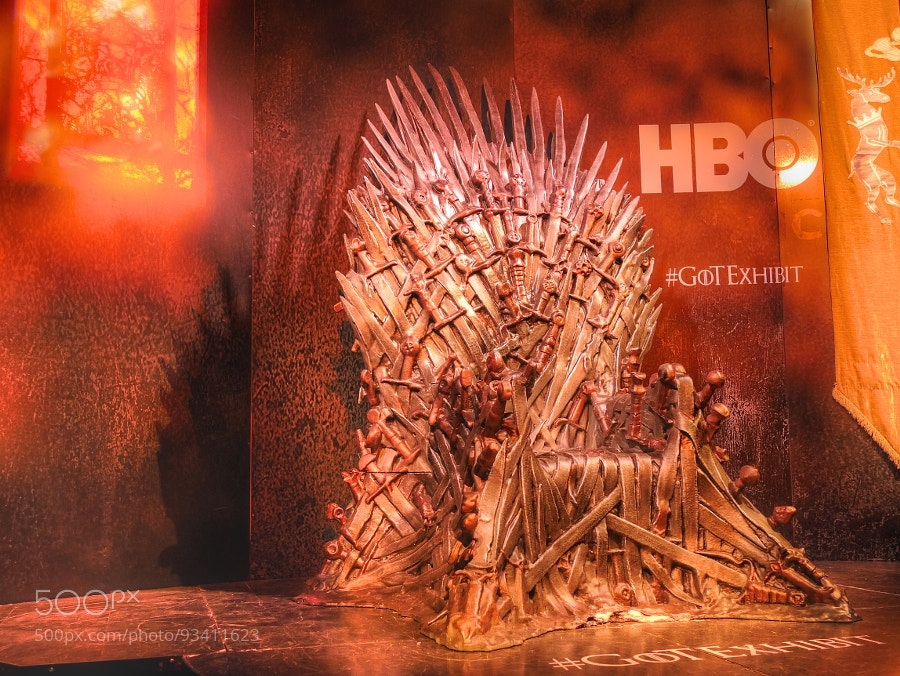 Photograph The Iron Throne by Des Paroz on 500px