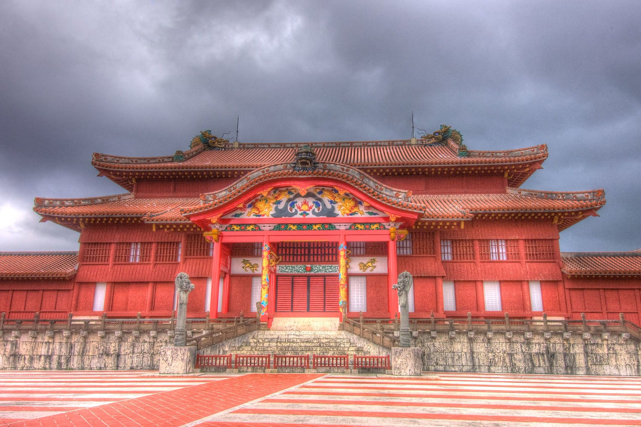 Shuri Castle - former home of the Ryukyu Kingdom