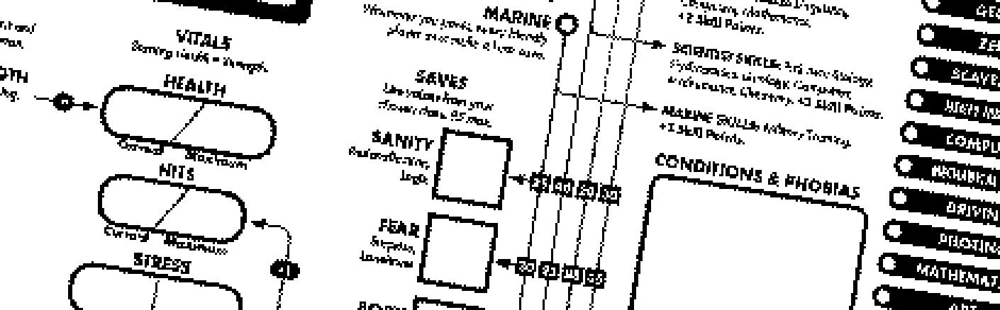 Character Sheet Header