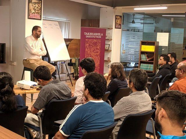 Teaching at Takshashila