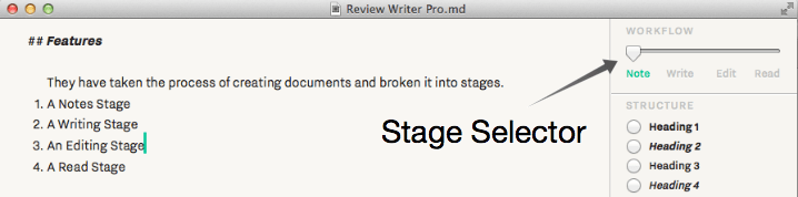 Notes Stage
