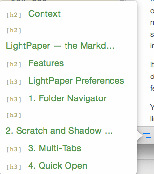 LightPaper Preview Outline