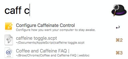 Caffeinate Control