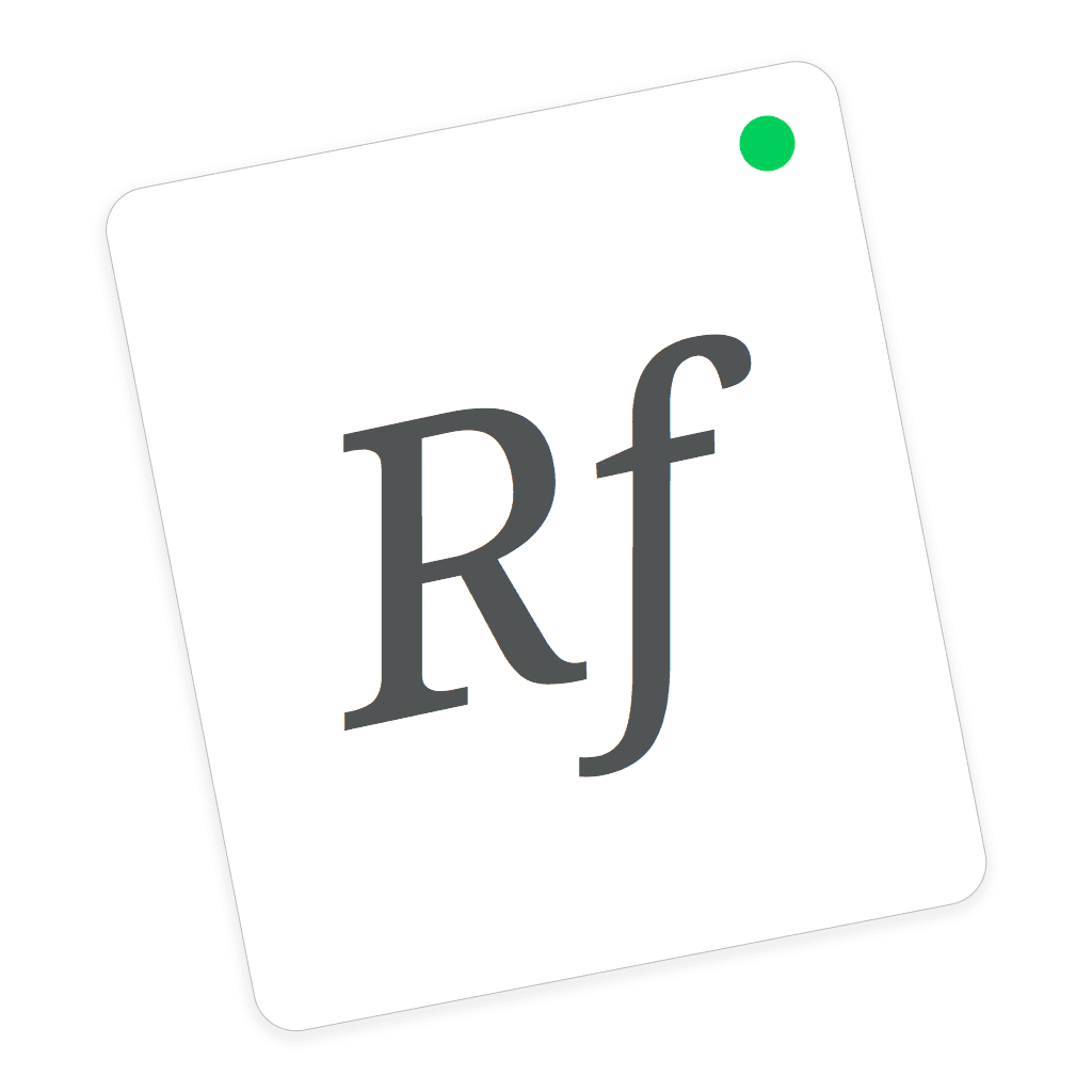 RightFont Icon
