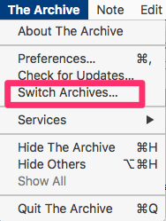 Switch Archives