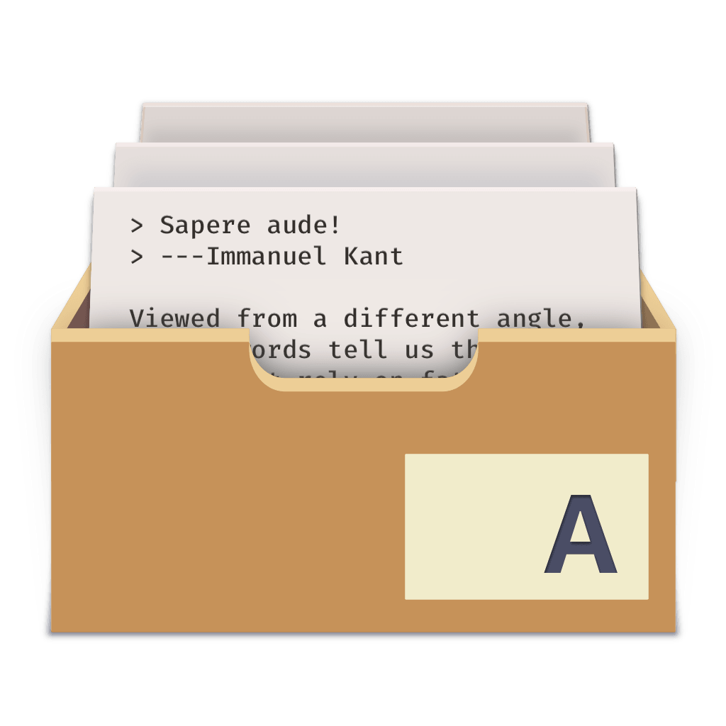 The Archive icon