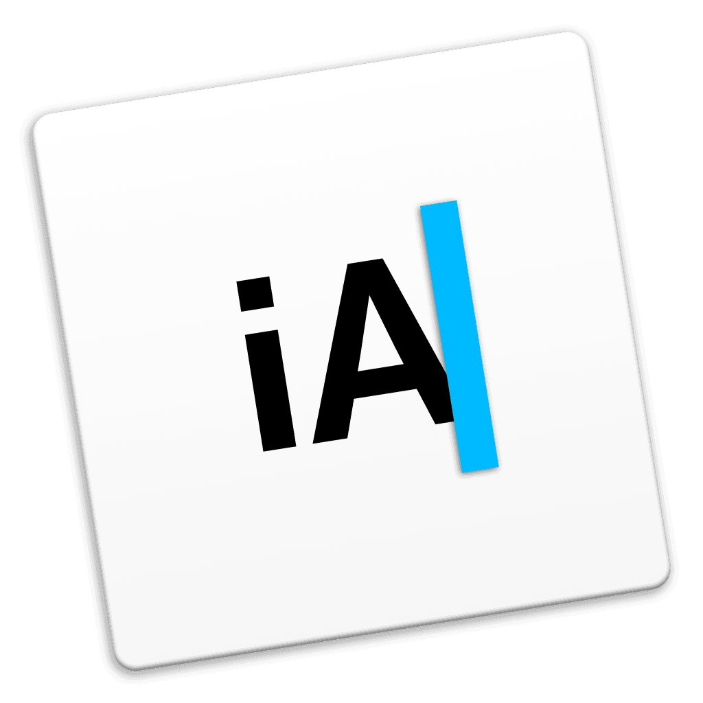iA Writer Light Icon