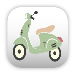 Moped icon