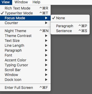 Paper Focus Mode