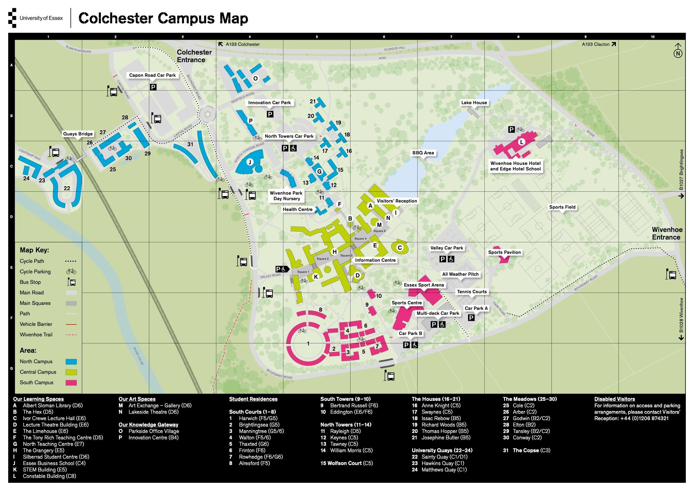 university of essex colchester