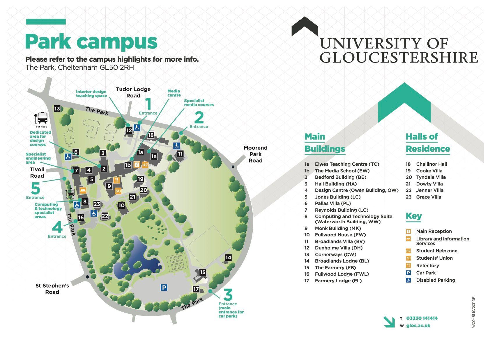 university of gloucestershire cheltenham