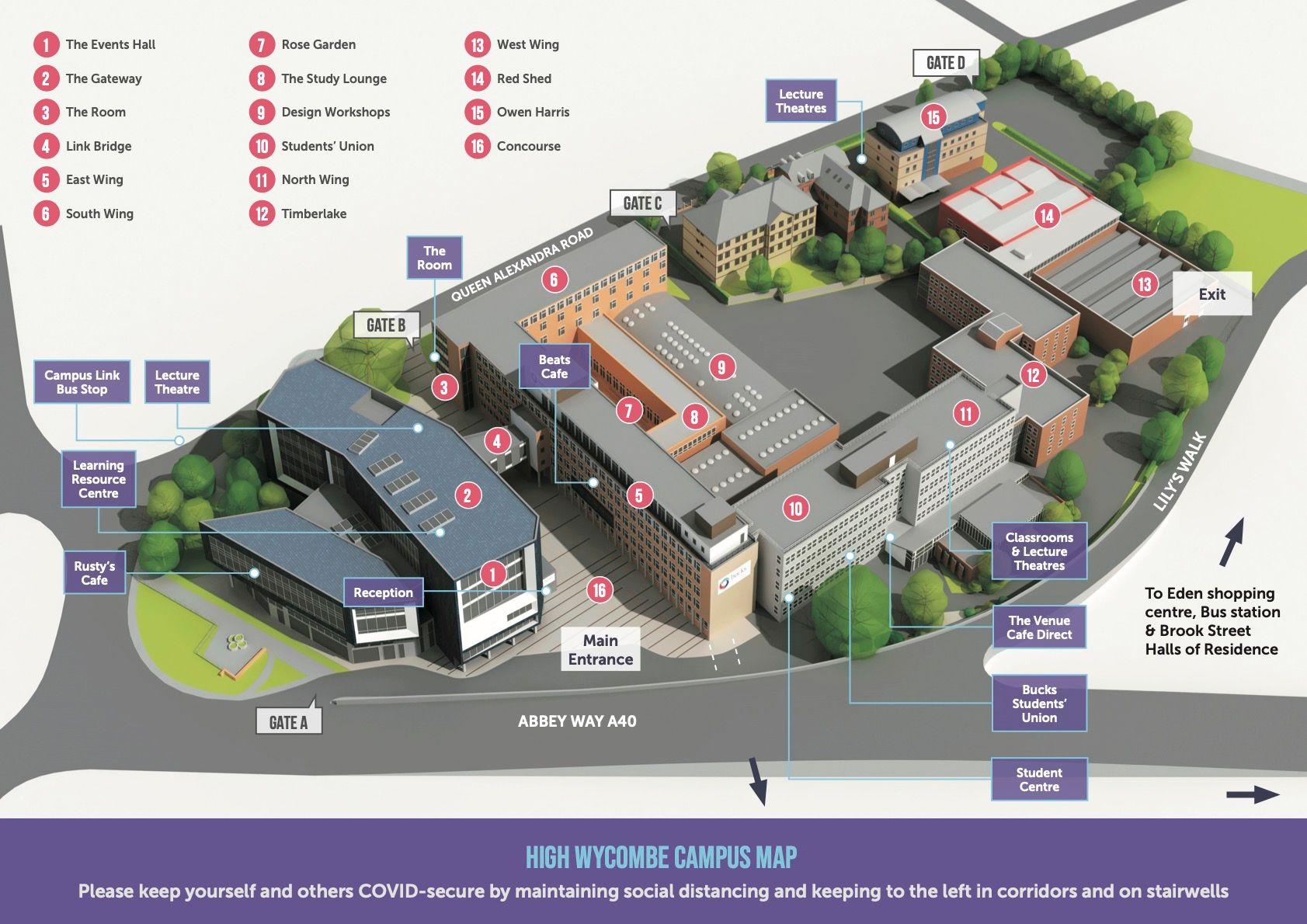 buckinghamshire new university high wycombe