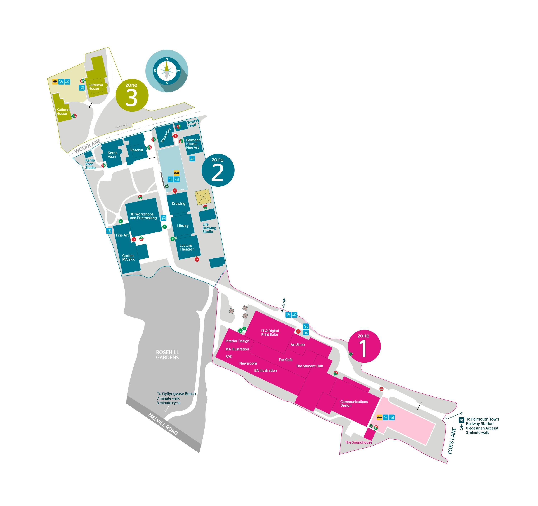 falmouth university main campus