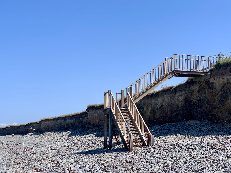 beach steps at llan-non