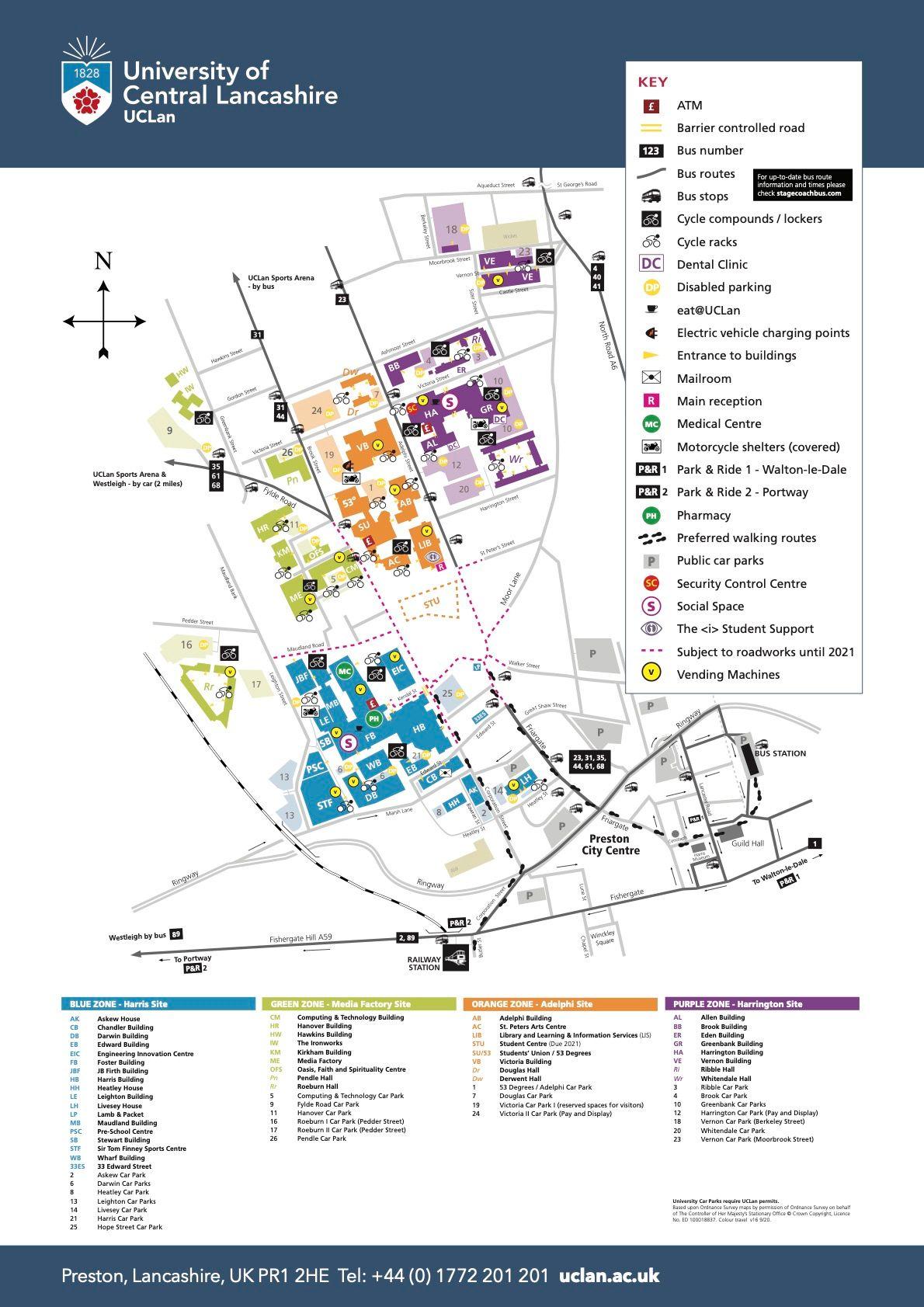 university of central lancashire preston