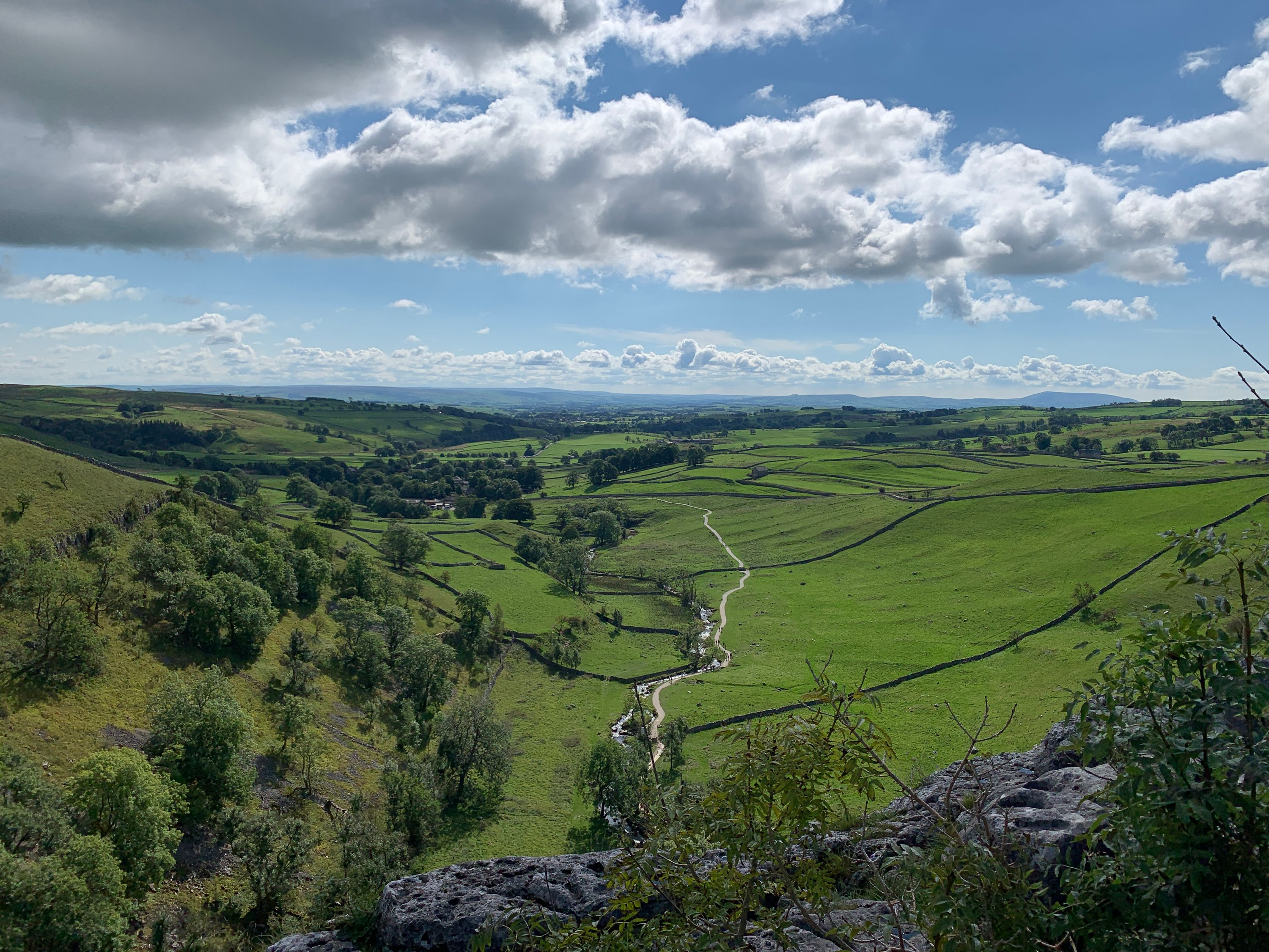 View from Malham Cove