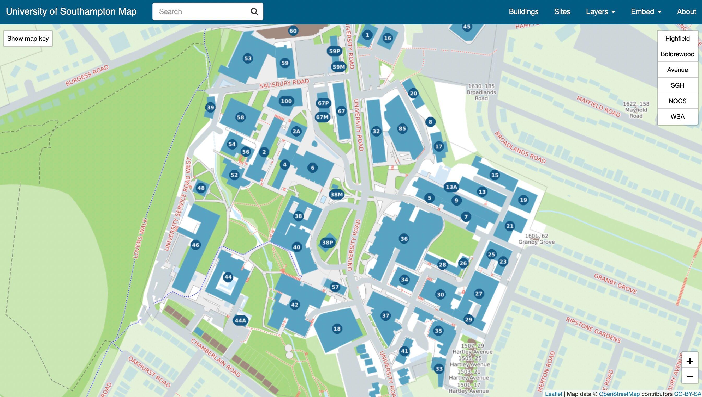 university of southampton (web only)