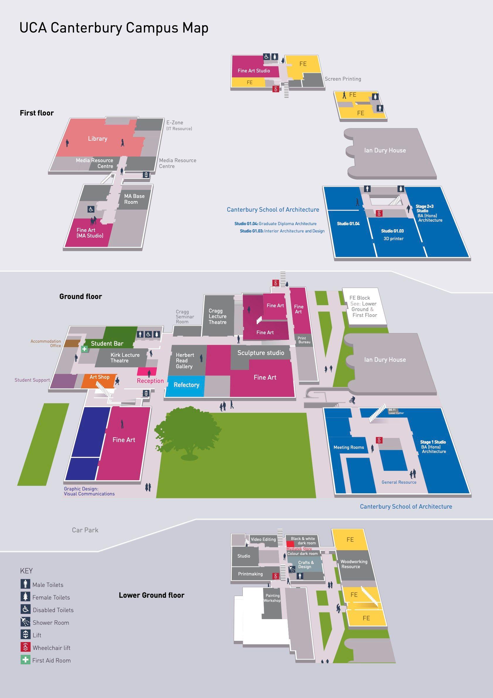 university for the creative arts canterbury