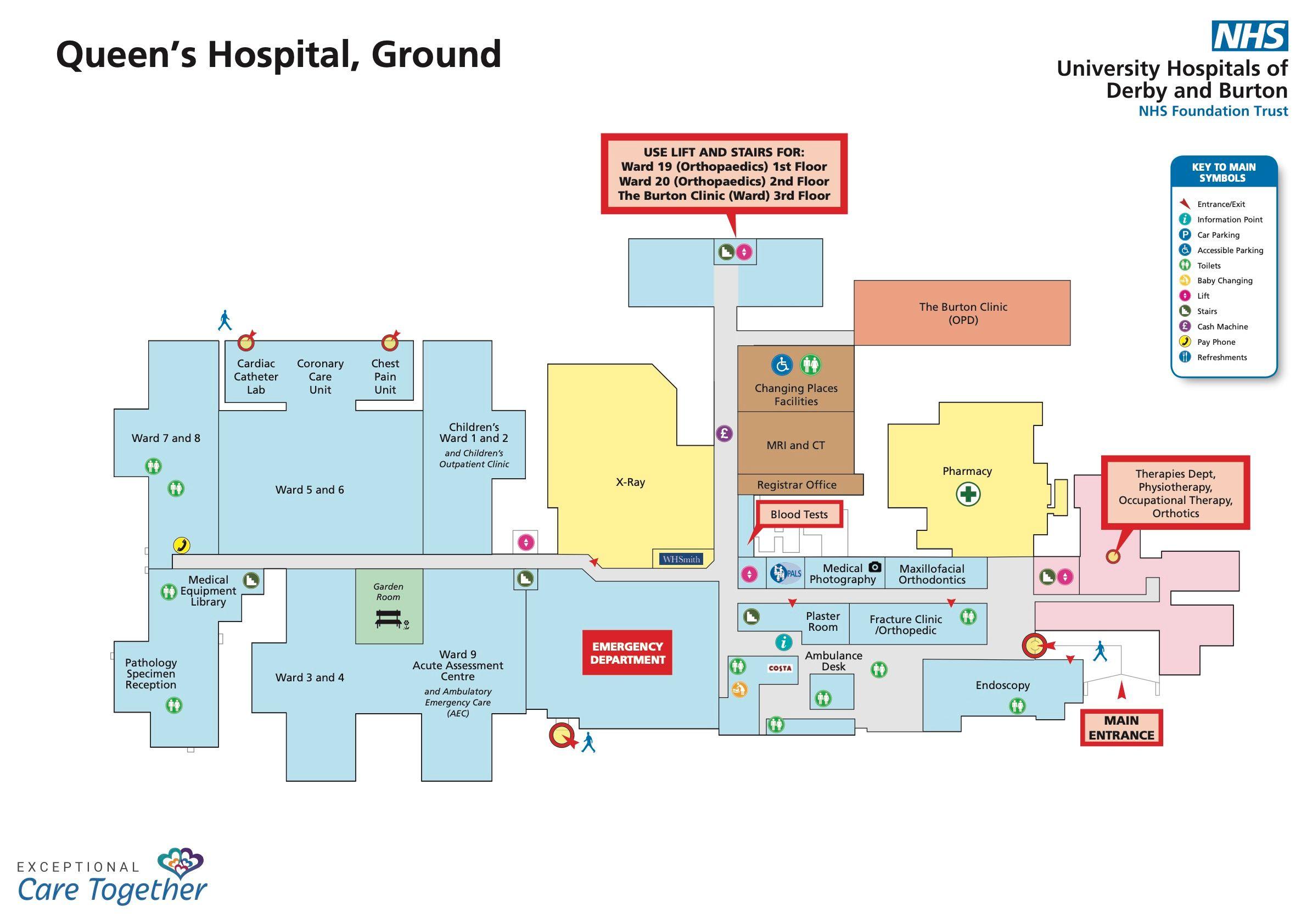 queen's hospital burton