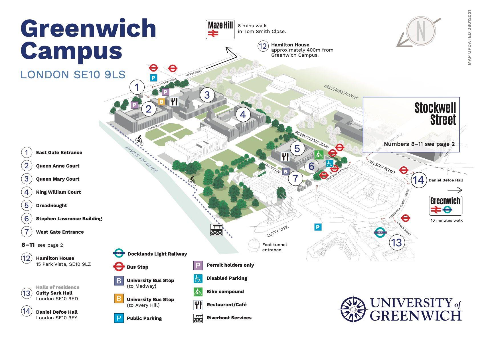 university of greenwich london