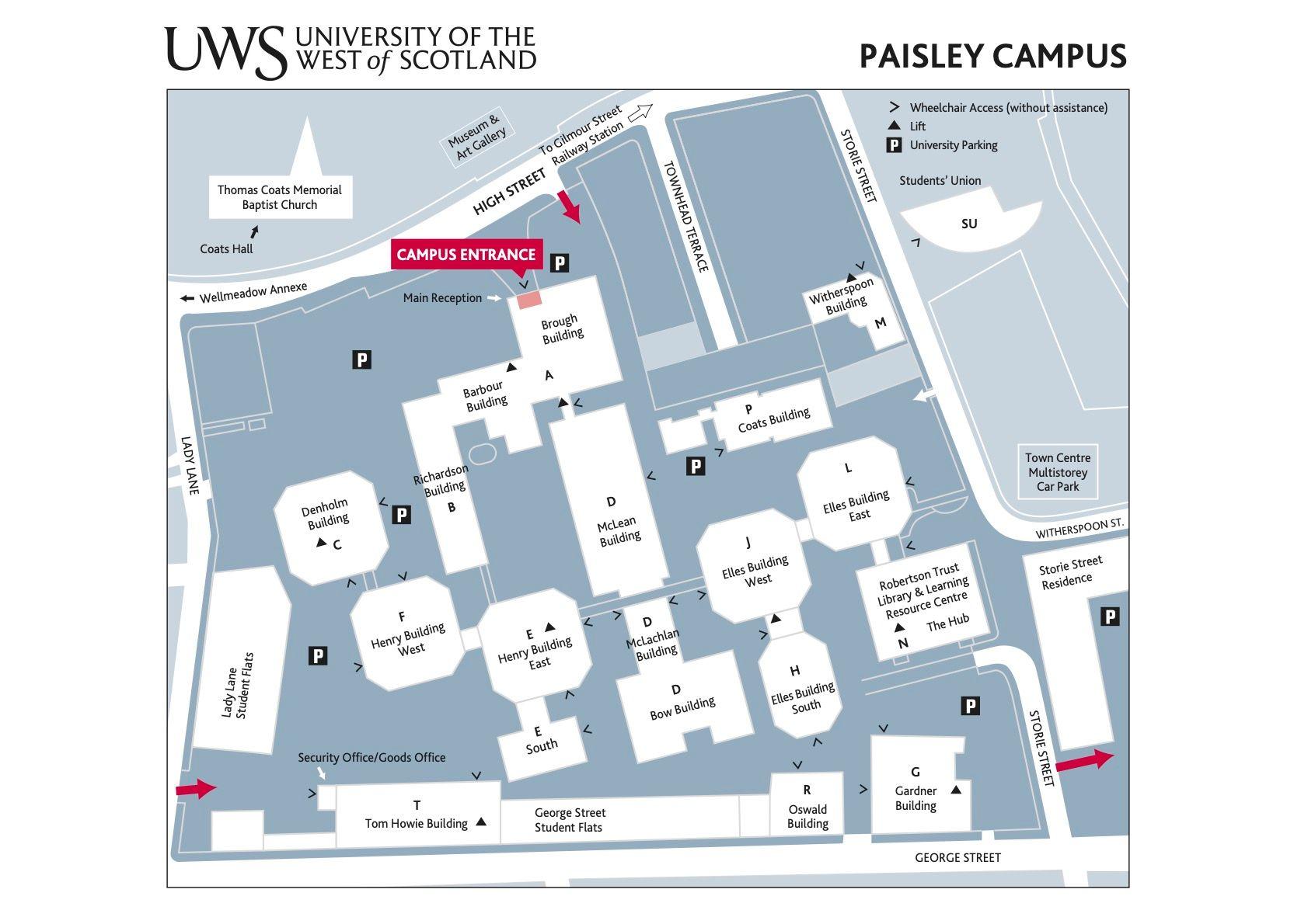 university of the west of scotland paisley