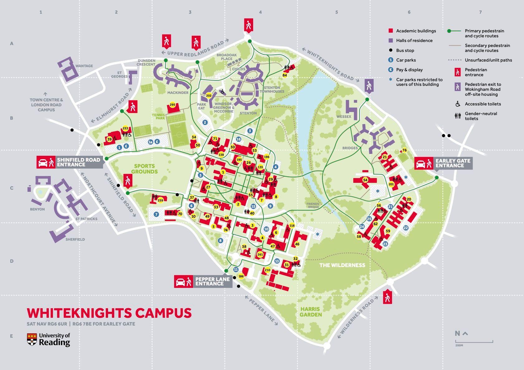 university of reading whiteknights