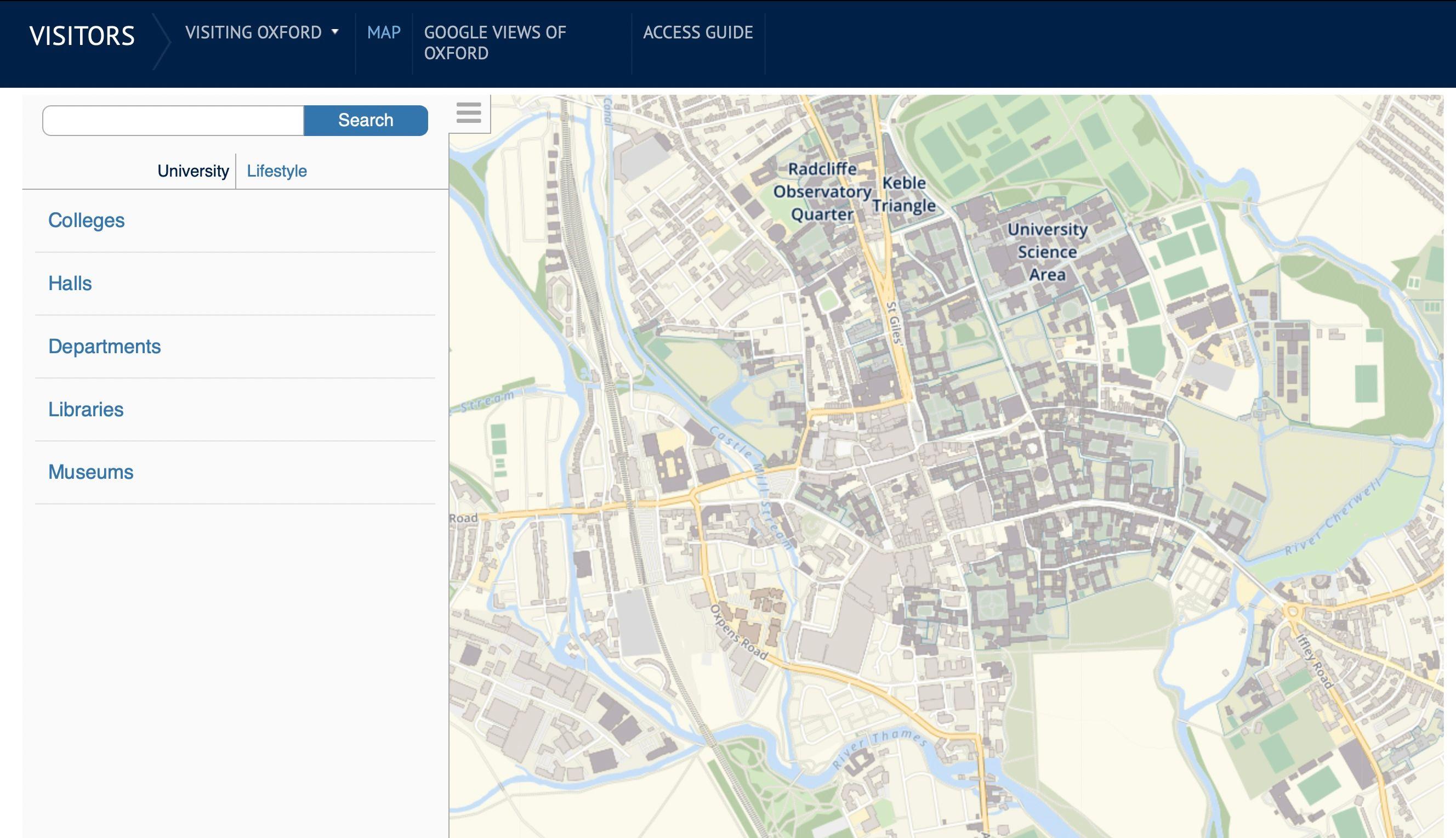 university of oxford (web only)