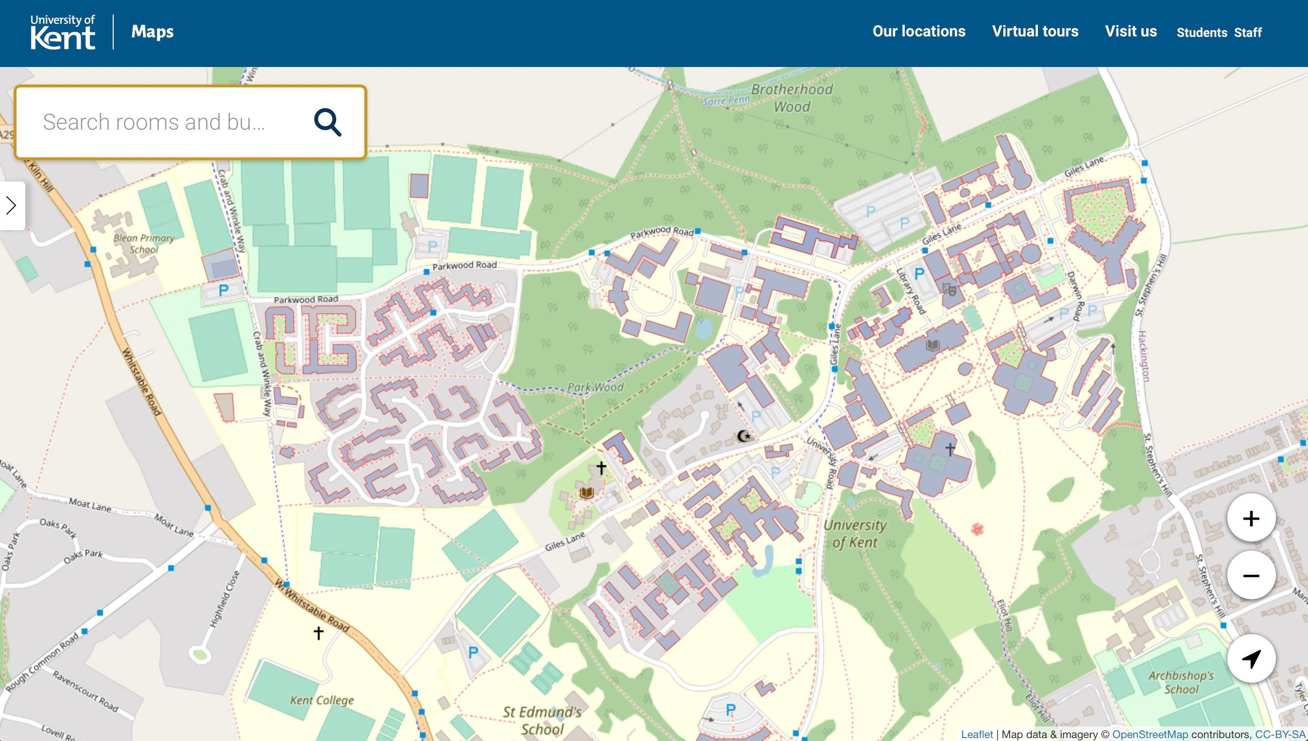 university of kent canterbury