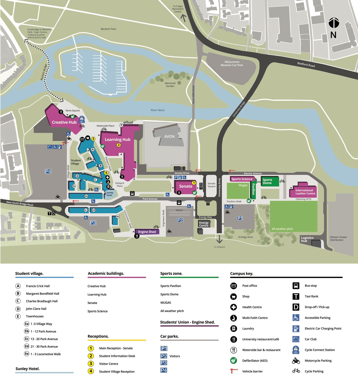 university of northampton waterside