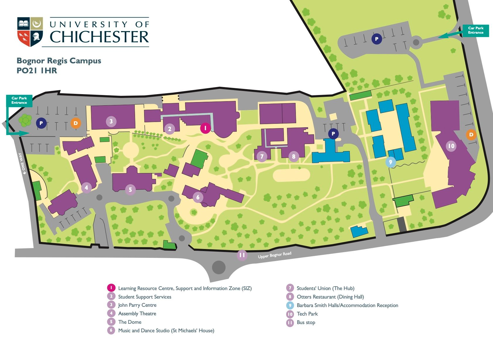 university of chichester bognor regis