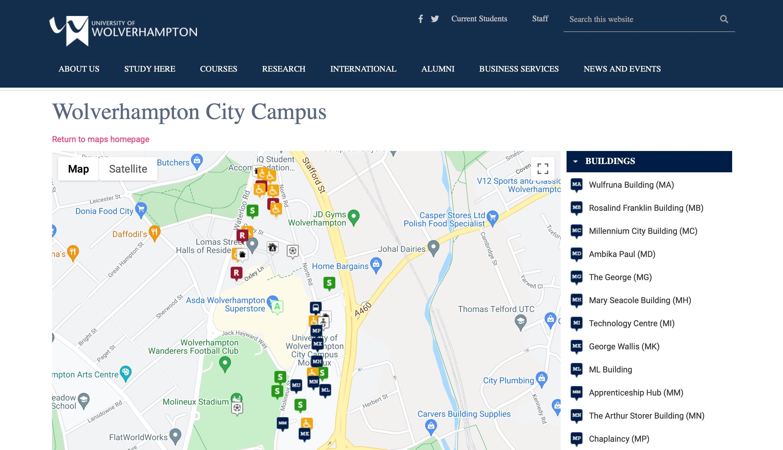 university of wolverhampton (web only)