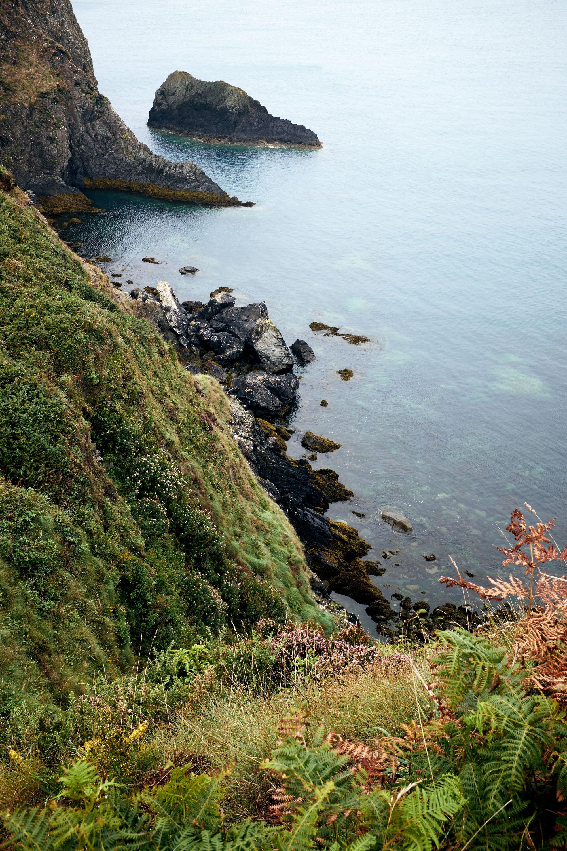 trefin cliff path