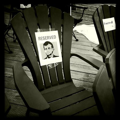 Bill Murray Chair