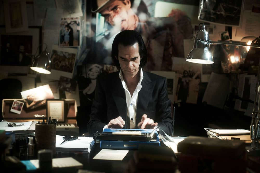Nick Cave in the documentary 20,000 Days on Earth