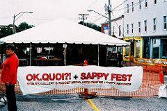 OK. Quoi?! + Sappyfest Banner